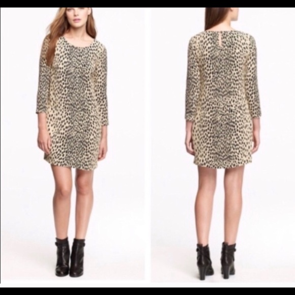J. Crew Dresses & Skirts - J. Crew animal print shift dress